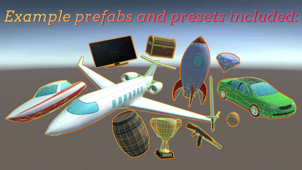 Included Prefabs