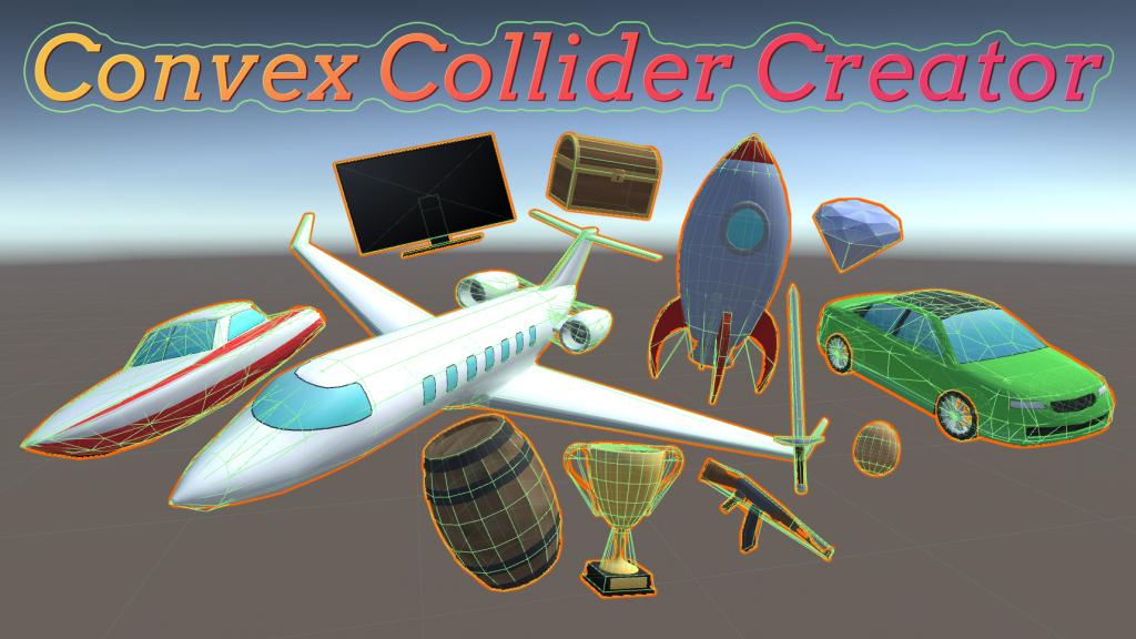 Convex Collider Creator